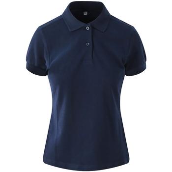 textil Dame Polo-t-shirts m. korte ærmer Awdis JP02F Navy