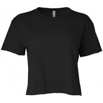 textil Dame T-shirts m. korte ærmer Next Level NX5080 Black