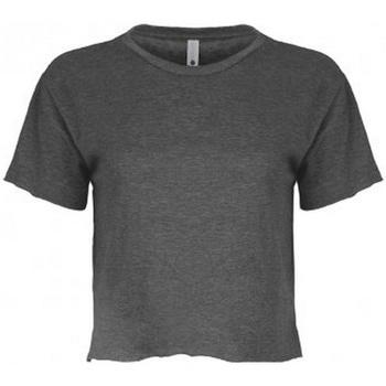 textil Dame T-shirts m. korte ærmer Next Level NX5080 Charcoal Grey