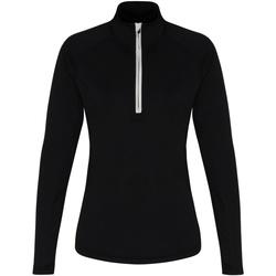 textil Dame Langærmede T-shirts Tridri TR120 Black/White
