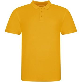textil Polo-t-shirts m. korte ærmer Awdis JP100 Mustard