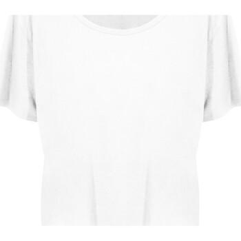 textil Dame T-shirts m. korte ærmer Ecologie EA02F Arctic White