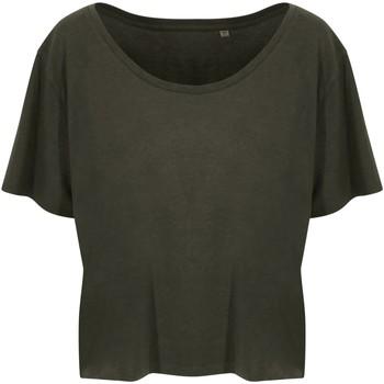 textil Dame T-shirts m. korte ærmer Ecologie EA02F Fern Green