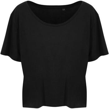textil Dame T-shirts m. korte ærmer Ecologie EA02F Jet Black