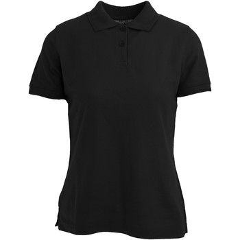 textil Dame Polo-t-shirts m. korte ærmer Absolute Apparel  Black