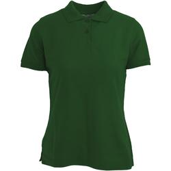 textil Dame Polo-t-shirts m. korte ærmer Absolute Apparel  Bottle Green