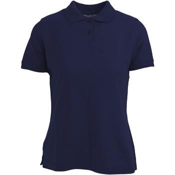 textil Dame Polo-t-shirts m. korte ærmer Absolute Apparel  Navy