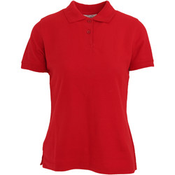textil Dame Polo-t-shirts m. korte ærmer Absolute Apparel  Red