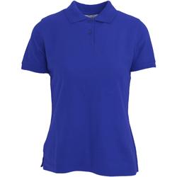 textil Dame Polo-t-shirts m. korte ærmer Absolute Apparel  Royal