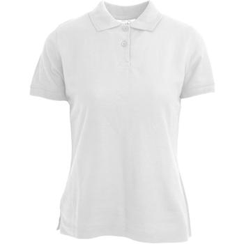 textil Dame Polo-t-shirts m. korte ærmer Absolute Apparel  White