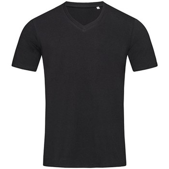 textil Herre T-shirts m. korte ærmer Stedman Stars  Black
