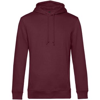 textil Herre Sweatshirts B&c WU33B Burgundy
