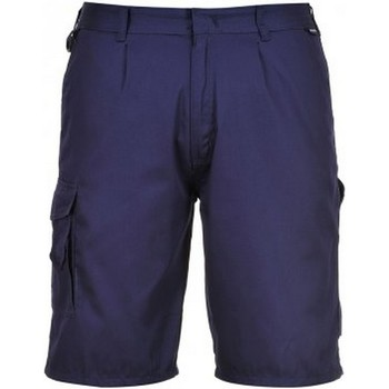 textil Herre Shorts Portwest PW128 Navy