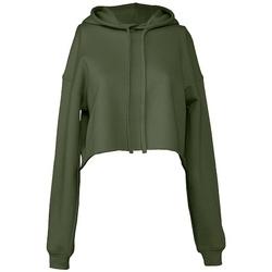textil Dame Sweatshirts Bella + Canvas BL7502 Military Green