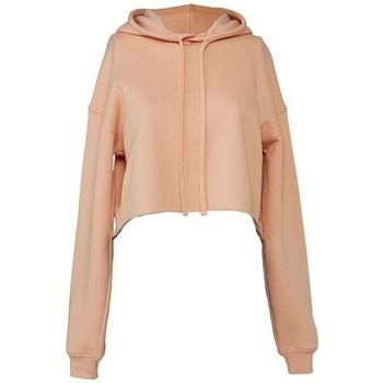 textil Dame Sweatshirts Bella + Canvas BL7502 Peach