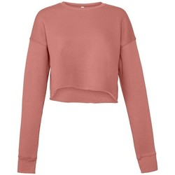 textil Dame Sweatshirts Bella + Canvas BL7503 Mauve