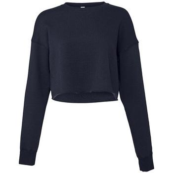 textil Dame Sweatshirts Bella + Canvas BL7503 Navy