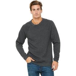 textil Sweatshirts Bella + Canvas BE111 Dark Grey Heather