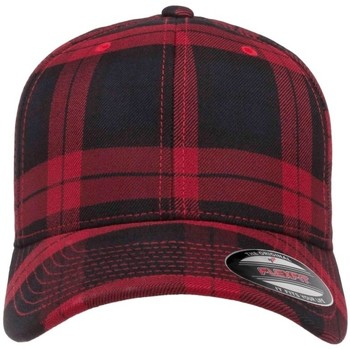 Accessories Kasketter Flexfit By Yupoong YP042 Black/Red