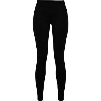textil Dame Leggings Build Your Brand BY099 Black