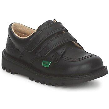 Sko Børn Lave sneakers Kickers KICK LO VELCRO Sort