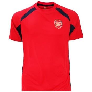 textil Dreng T-shirts m. korte ærmer Arsenal Fc  Red/Black