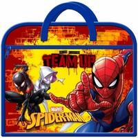Tasker Børn Skoletasker Spiderman  Navy/Red