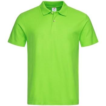 textil Herre Polo-t-shirts m. korte ærmer Stedman  Kiwi Green