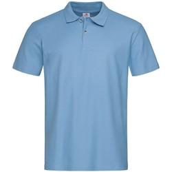 textil Herre Polo-t-shirts m. korte ærmer Stedman  Light Blue