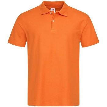 textil Herre Polo-t-shirts m. korte ærmer Stedman  Orange