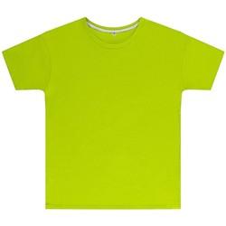 textil Børn T-shirts m. korte ærmer Sg SGTEEK Lime