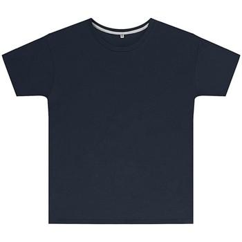 textil Børn T-shirts m. korte ærmer Sg SGTEEK Navy Blue