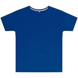 textil Børn T-shirts m. korte ærmer Sg SGTEEK Royal Blue