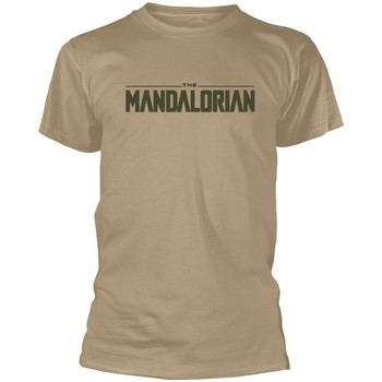 textil T-shirts m. korte ærmer Star Wars: The Mandalorian  Beige