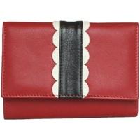Tasker Dame Tegnebøger Eastern Counties Leather  Red/Black