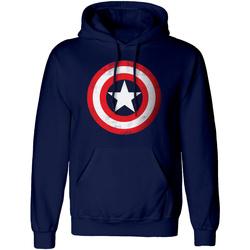 textil Sweatshirts Captain America  Navy/Red/White