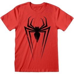textil T-shirts & poloer Marvel  Red/Black