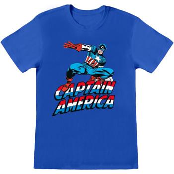 textil T-shirts & poloer Captain America  Blue