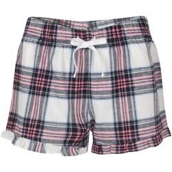textil Dame Pyjamas / Natskjorte Sf SK82 White/Pink