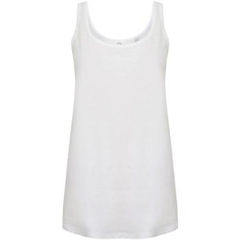 textil Dame Toppe / T-shirts uden ærmer Skinni Fit SK234 White