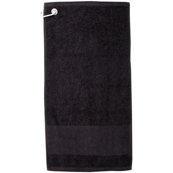 Indretning Håndklæde og badehandske Towel City PC3892 Black