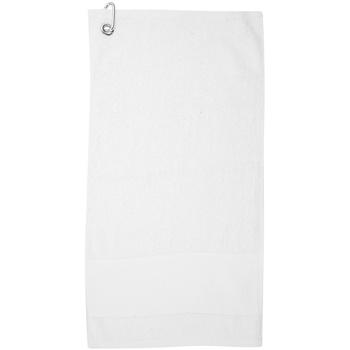 Indretning Håndklæde og badehandske Towel City PC3892 White