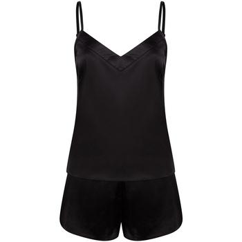 textil Dame Pyjamas / Natskjorte Towel City TC057 Black
