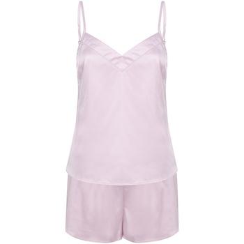textil Dame Pyjamas / Natskjorte Towel City TC057 Light Pink