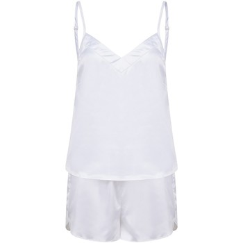 textil Dame Pyjamas / Natskjorte Towel City TC057 White