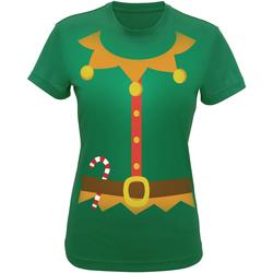 textil Dame T-shirts & poloer Christmas Shop CS143 Green