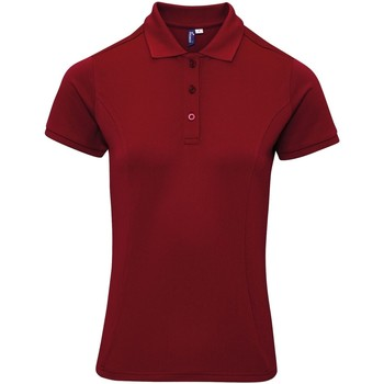 textil Dame T-shirts & poloer Premier PR632 Burgundy
