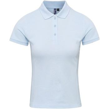 textil Dame T-shirts & poloer Premier PR632 Light Blue