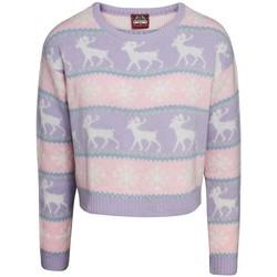 textil Dame Sweatshirts Christmas Shop  Pink/Purple