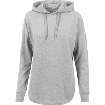 textil Dame Sweatshirts Build Your Brand BY037 Grey